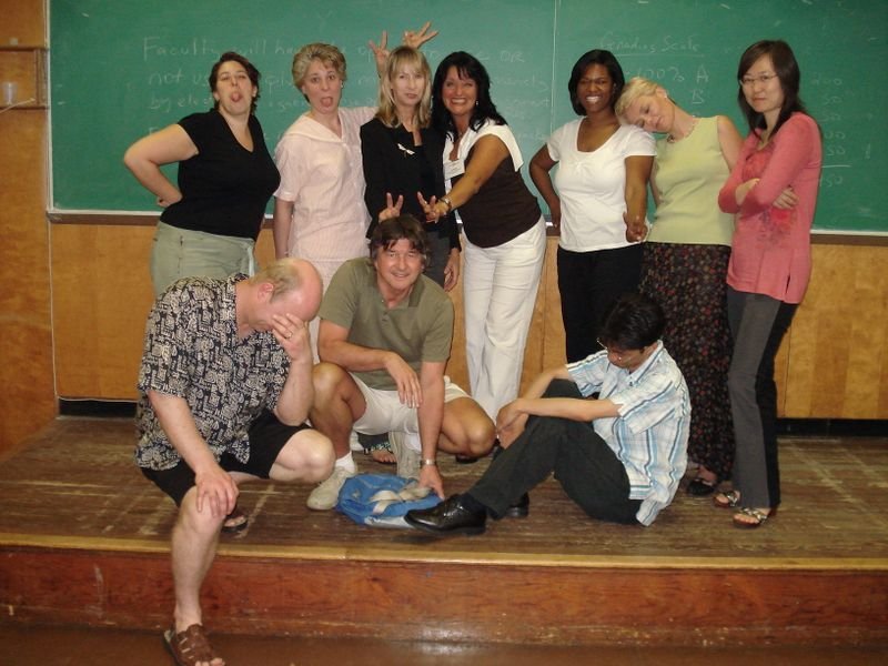 Bad classroom management