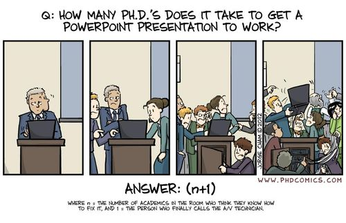 Phd and powerpt